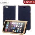 MOXIE COUTURE BOOK CASE BLUE iPHONE6/6S FOLIOCOUTUREIP6BLU