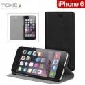 MOXIE BOOK CASE BLACK iPHONE6/6S FOLIOTIP6BLACK