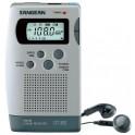 SANGEAN DT 300 DIGITAL RADIO AM/FM SILVER