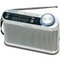 ROBERTS R 9993 ANALOGUE RADIO AM/FM/LW AC/DC SILVER