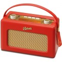 ROBERTS RD-60 CFM DAB/FM/AM DIGITAL RADIO LEATHER RED