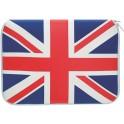 PAT SAYS NOW 7038 UK UNION JACK LAPTOP SLEEVE 14''- 15.6''