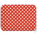 PAT SAYS NOW 7786 RED POLKA LAPTOP SLEEVE 14''- 15.6''