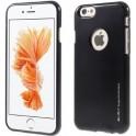 MERCURY i-JELLY METAL CASE iPHONE 6/6S BLACK