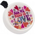 LIIX BIG COLOUR BELL ALL WE NEED IS LOVE WHITE