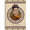 NOTEBOOK A4 125 PAGES RULED CTFA4P0001 FRIDA KAHLO