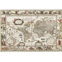 DESKMAT TSEH385 WORLD MAP OLD