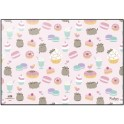 DESKMAT TSEH517 PUSHEEN ROSE COLLECTION