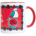 MUG TAZ019 300ml FRIDA KAHLO WINGS TO FLY