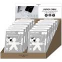 XOOPAR POP11008.48 POP BUDDY TABLE PAPER DISPLAY 12pcs WHEAT