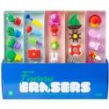 ERASERS CGOM005 DISPLAY BOX 30 SETS (5 ERASERS x 6pcs)