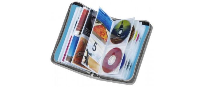 Φορητές Θήκες CD-DVD-Κασσέτες Ηχου