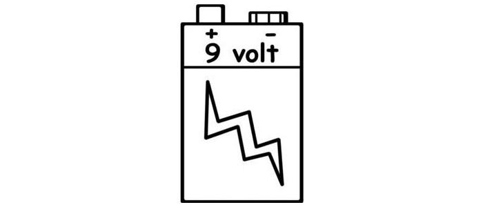 9V/6LR61 Αλκαλικές Μπαταρίες