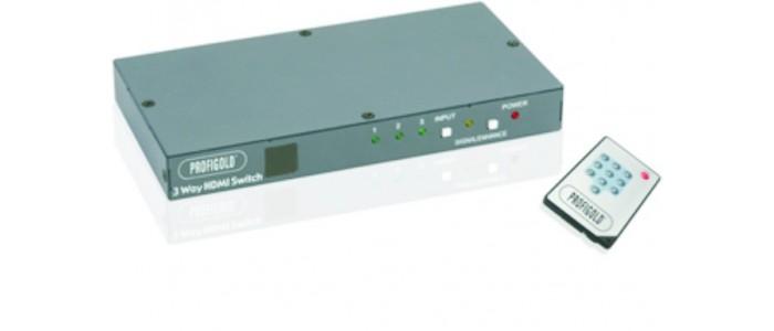 Επιλογείς & Ενισχυτές HDMI
